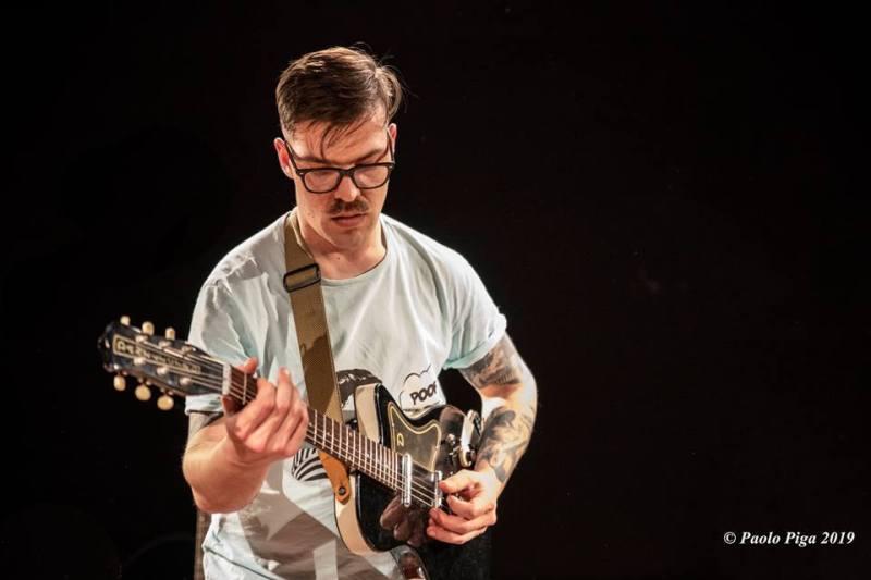 Matteo Leone - Mattep Lepne Live - Ex-Vetreria - Paolo Piga - 2019 - live report - Sa Scena Sarda
