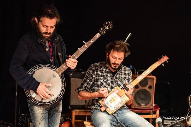 _____ & Fabrizio Lai - Mattep Lepne Live - Ex-Vetreria - Paolo Piga - 2019 - live report - Sa Scena Sarda