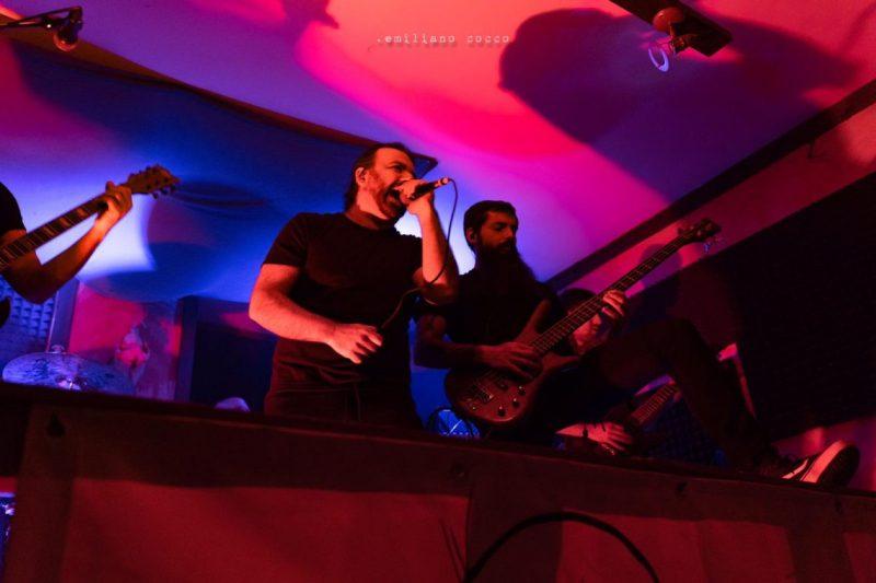The Blacktones - Emiliano Cocco - La Cantina Rock - Carbonia - aprile 2019 - live report - Sa Scena Sarda