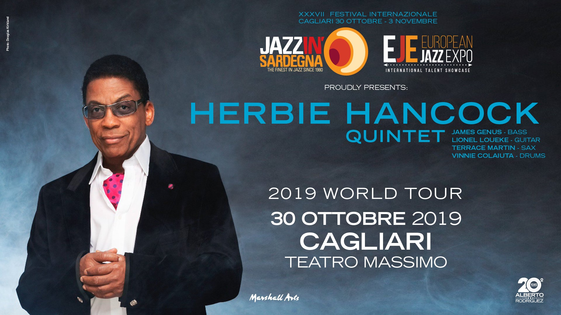 european jazz expo - herbie hancock - festival - jazzinsardegna - sa scena sarda - eventi