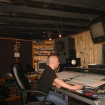 S.A. Sebastian. Recording Atomic Brother in Switzerland.