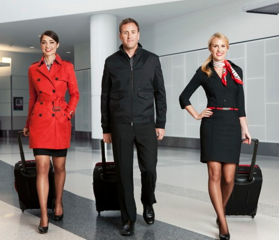 Fashion In Flight_Virgin America