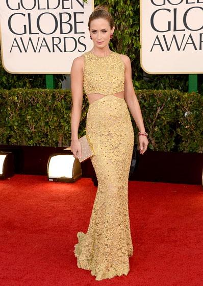Golden Globes Emily Blunt