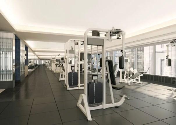 Equinox Strength Training Room