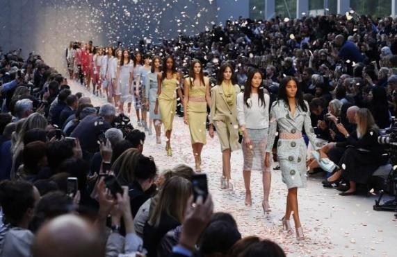 Burberry SS/14 Runway Collection