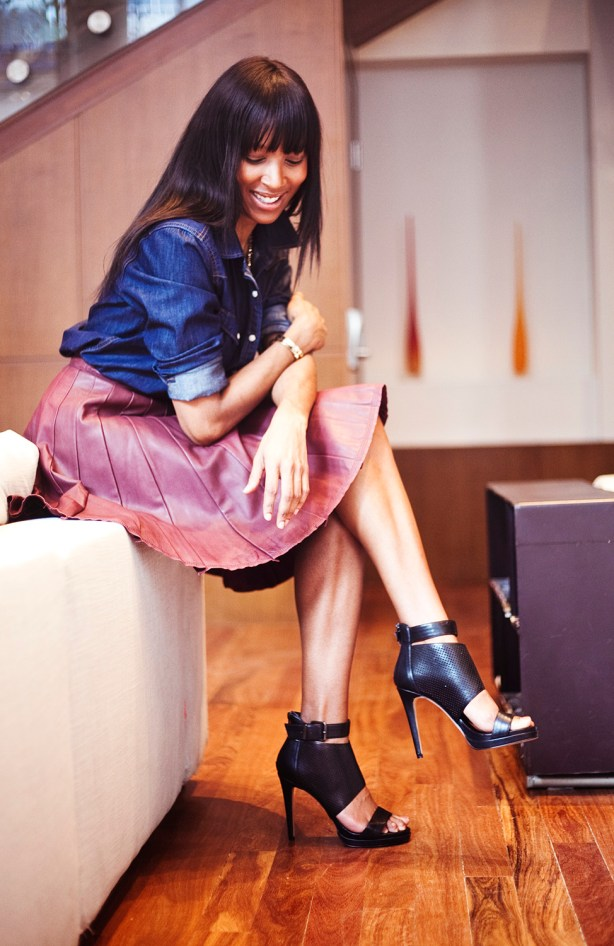 J.Crew Collection Leather Skirt