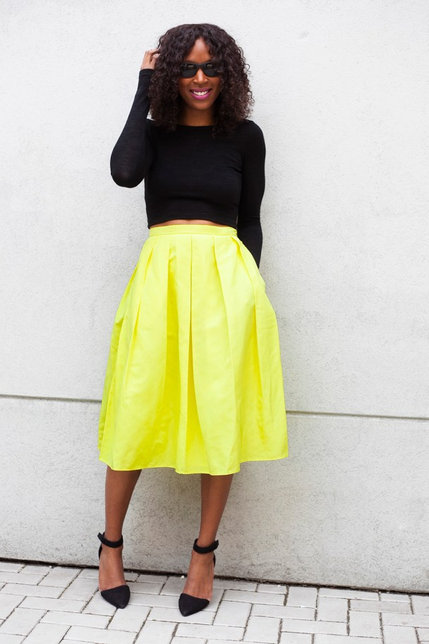 424 Fifth Midi Skirt