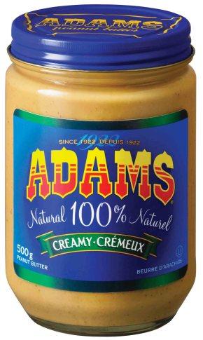Adams Natural Creamy Peanut Butter
