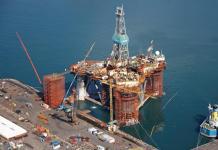 Oil Rig in Saldanha