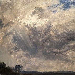 Olieverfschets John Constable