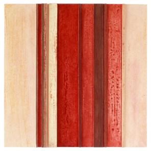 #01 | 50 x 50 cm | óleo sobre tabla y listones de madera de sapelli y limoncillo