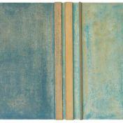 #11 | 50 x 100 cm | óleo sobre tabla y listones de madera de sapelli y limoncillo