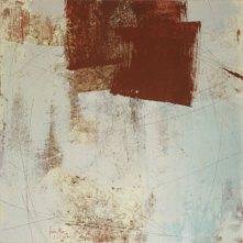rojo óxido II | 50 x 50 cm