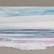 09 violeta-cyan   enmarcado, 25 x 65 cm