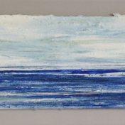10 azul-cyan-naranja | enmarcado, 25 x 65 cm