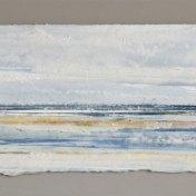 11 azul-amarillo   enmarcado, 25 x 65 cm