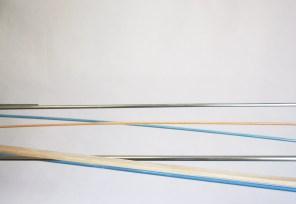 detalle | móvil turquesa-naranja | 275 x 140 x 60 cm
