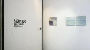 entrada sala principal   pintura, 35 x 35 cm