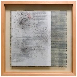Entre palabras el silencio, niños | vitrina 51 x 51 x 4,5 cm