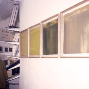 4 grabados sobre papel hecho a mano   42 x 42 cm cada uno   edición de 10 ejemplares +1 P.A.