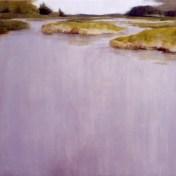 Tajo manso | 100 x 100 cm | óleo sobre tela