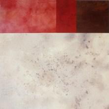 Faro I | 200 x 200 cm | óleo sobre tela y chapa de hierro