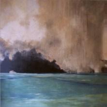 gruta marina | 200 x 200 cm | óleo sobre tela