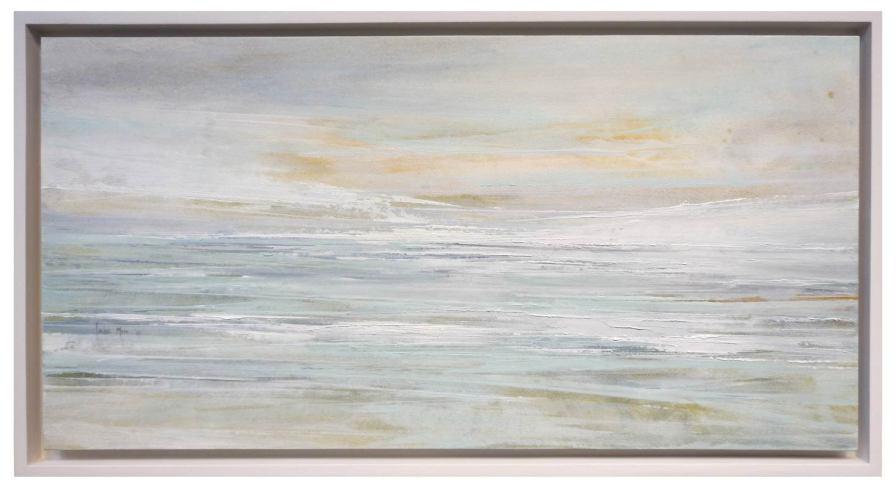 Memória I   30 x 60 cm   óleo sobre lienzo encolado tabla · enmarcado 34 x 64 cm