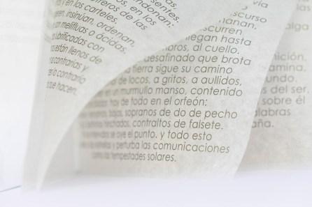 Libro de artista · as palavras - las palabrasTexto José Saramago · open