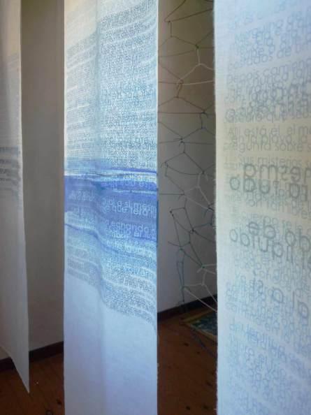 as águas do mundo | en montado en la exposición de El Hacedor