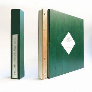 Caja abierta   31x34,5x5 cm   madera