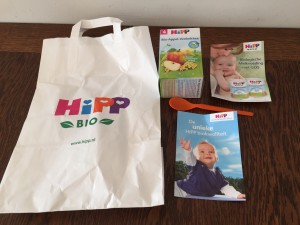 Negenmaandenbeurs shoplog HIPP