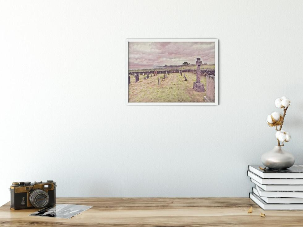 Rest In Peace Those Who Have Fallen Landscape Wall Art Picture sample image. Style PT41