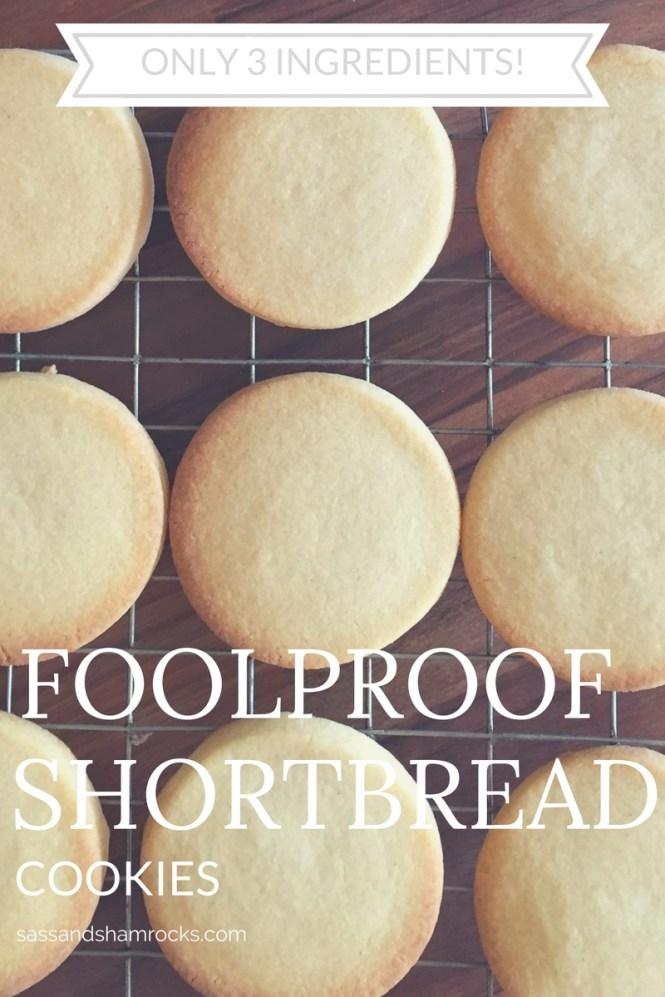 Foolproof Shortbread Cookies