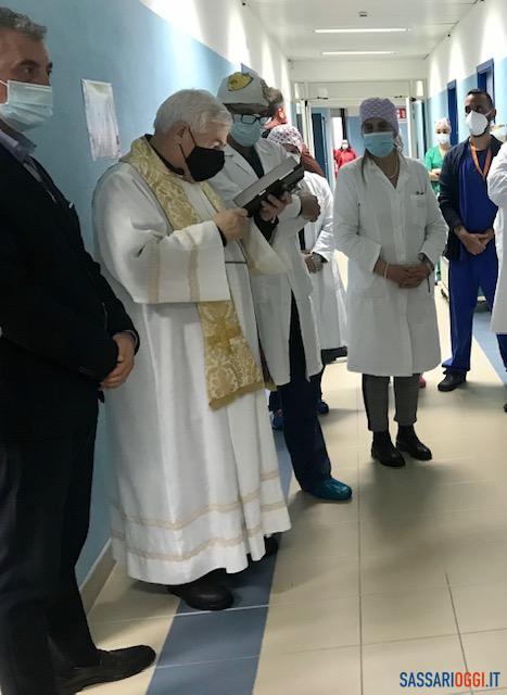 Il reparto Covid di Alghero entra in funzione, primo paziente all'ospedale Marino