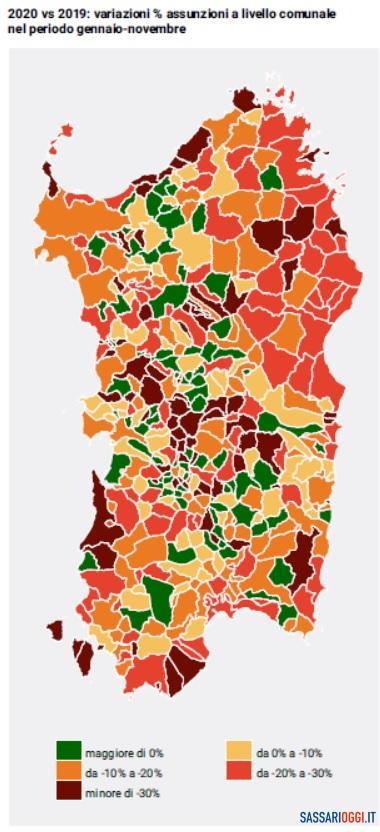 L'anno orribile per il lavoro in provincia di Sassari, ma ci sono timidi segnali di ripresa