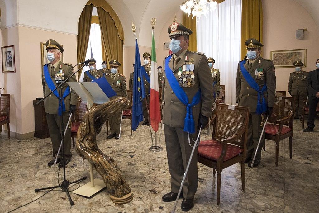 Cambio al vertice della Brigata Sassari: al comando il colonnello Levato