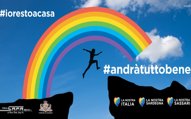 Manifesti arcobaleno Sassari
