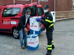 Donazioni Vigili del Fuoco Oristano