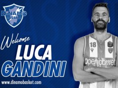 Luca Gandini Dinamo Sassari