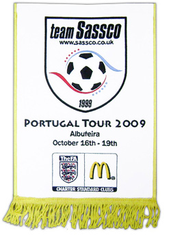 Portugal Tour 2009 pennants.