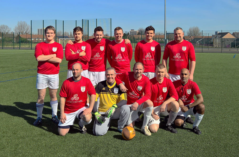 Sassco before the Northumbria University Officer Training Corp game