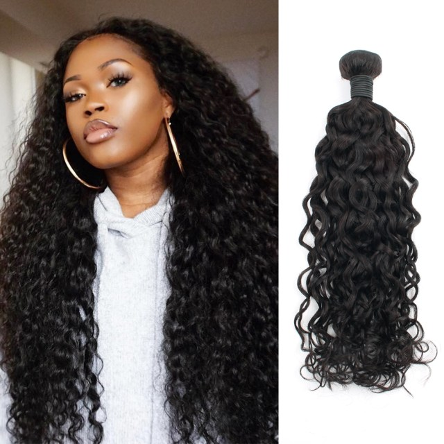spanish wave human hair bundles