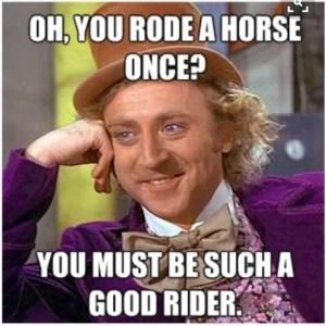 Snobby Horse Meme