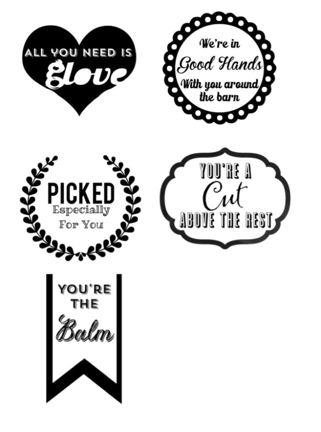 Useful Barn Gifts Gift Tags