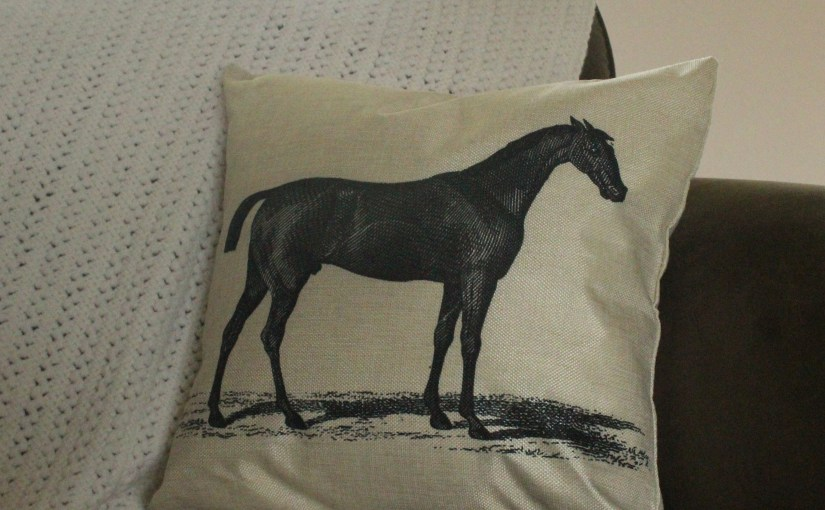Pillow Covers For The Horse Lover In Your Life