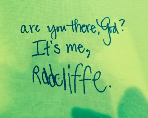 areyouthereRadcliffe