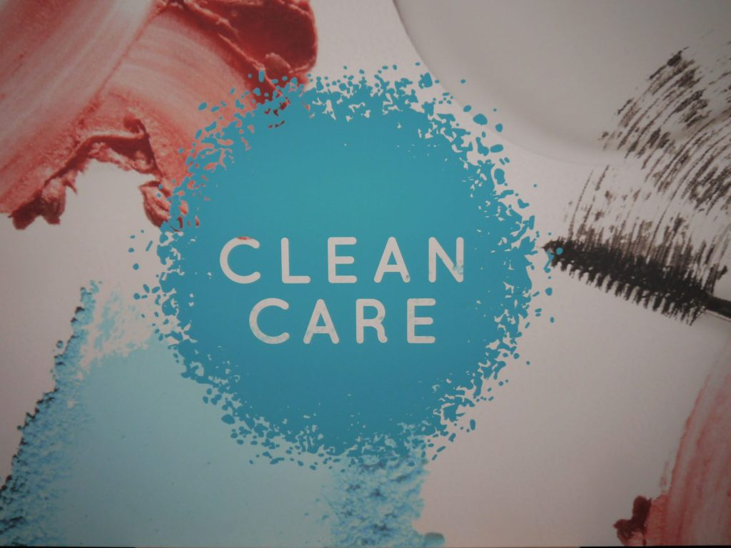 Connect-Beauty-FTA-WHEN-Toronto-events-MarieNatie-CleanCare-Clean-Care-sign