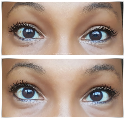 NYX Double Stacked Mascara product review - Step 3 collage - sassycritic.com