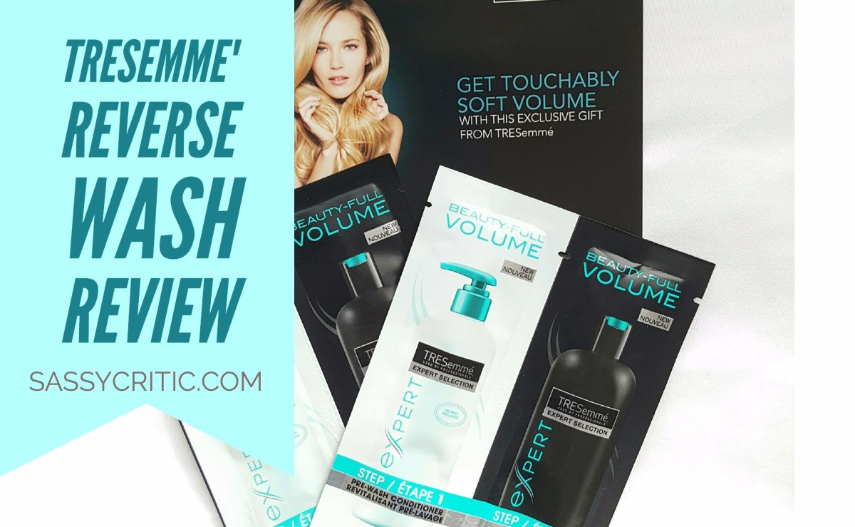 TRESemme Expert Selection Reverse Wash System Review